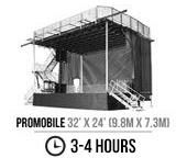 Designer & Manufacturer of Mobile Hydraulic Stages | Mobile